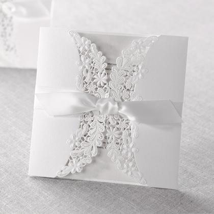 Contoh Undangan Pernikahan Laser Cutting