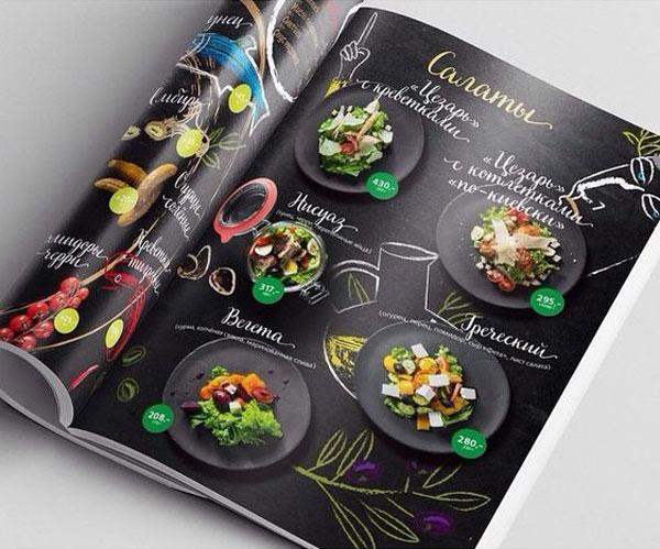 In ấn menu nhà hàng Nha Trang