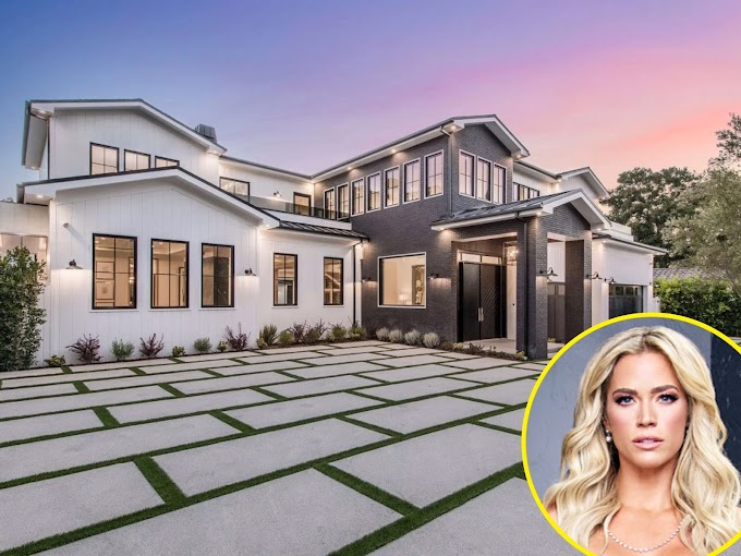 Teddi Mellencamp Arroyave Buys $6.5 Million Encino Mansion After 'RHOBH' Exit!