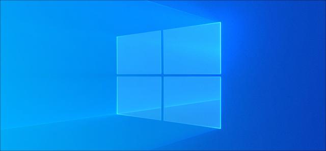 خلفية سطح المكتب الخفيفة لنظام التشغيل Windows 10.