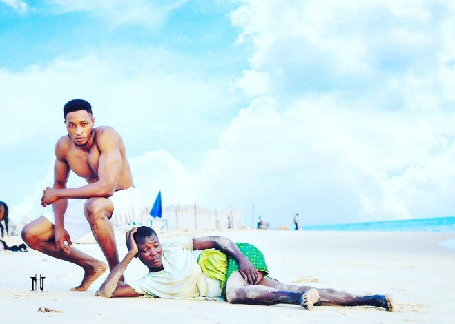 Olajumoke who? Mr. Nigeria features a real mad woman on his photoshoot