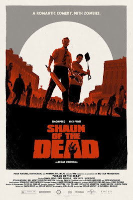 Thought Bubble 2019 Exclusive Shaun of the Dead Movie Poster Screen Print by Matt Ferguson x Vice Press x Bottleneck Gallery