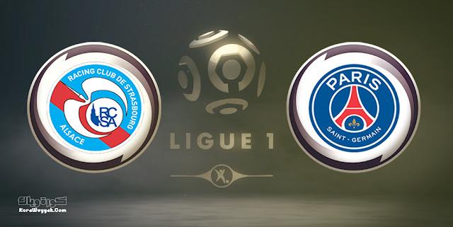 نتيجة مباراة باريس سان جيرمان وستراسبورج بتاريخ 14-08-2021 في الدوري الفرنسي