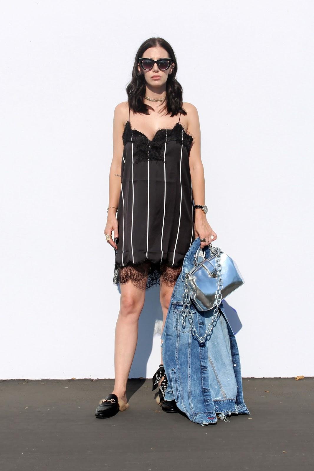 short slip dress trend