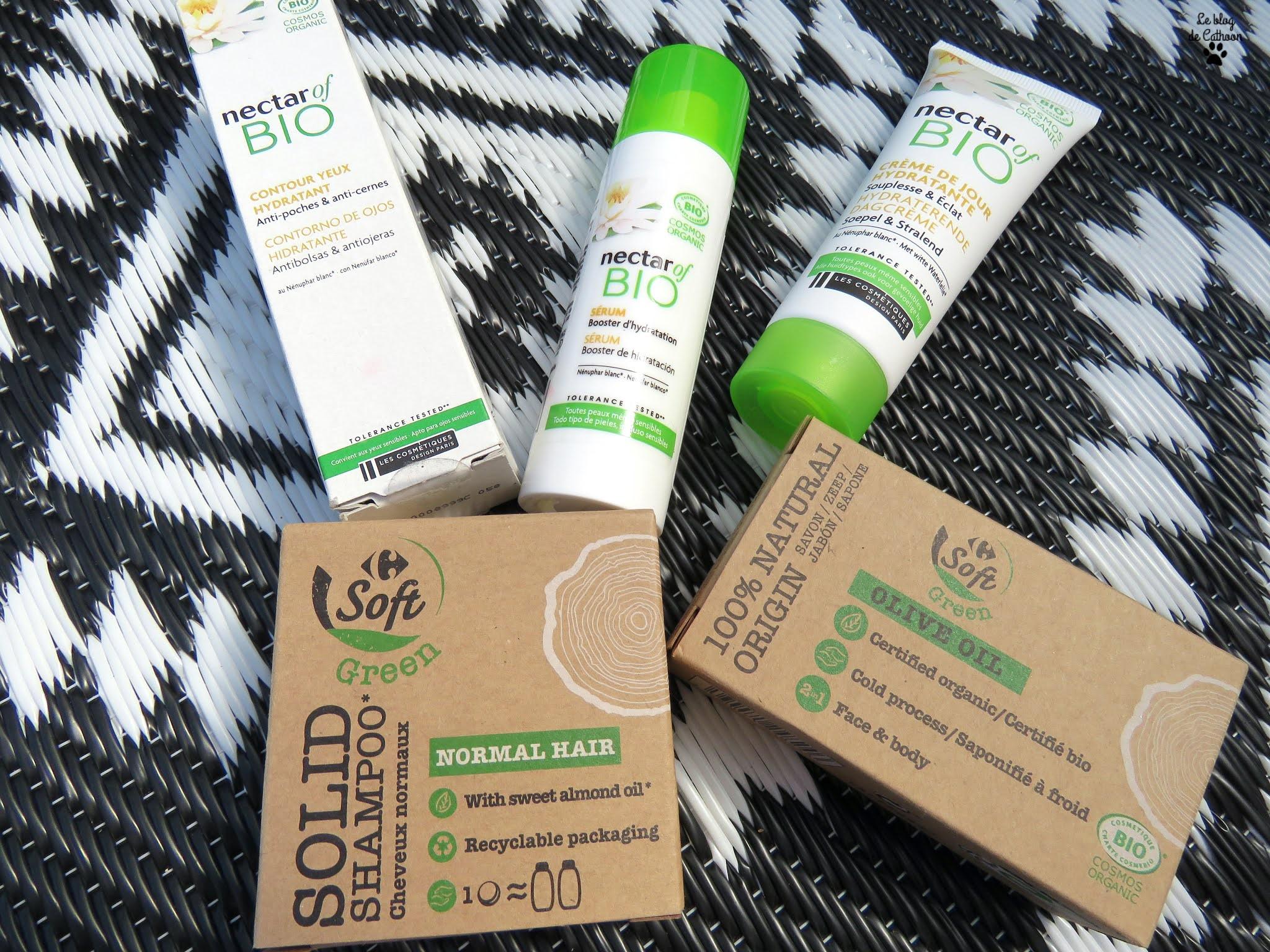 Nectar Of Bio 👉 La gamme bio et naturel de Carrefour