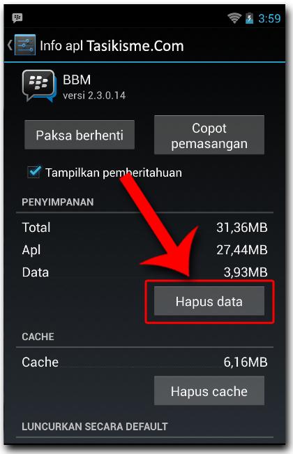 Ganti BBID Android