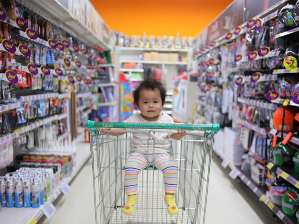 Five Tips for Running Errands With Young Children