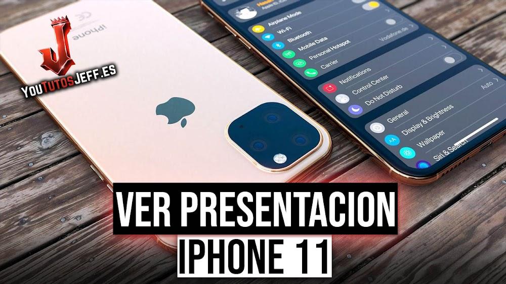 Ver la Presentación de iPhone 11 en Directo