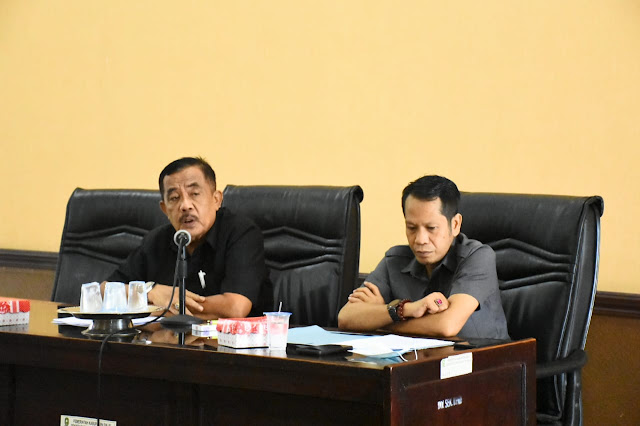 Mantapkan Draf Ranperda Inisiatif, Anggota DPRD Sinjai Gelar Rapat