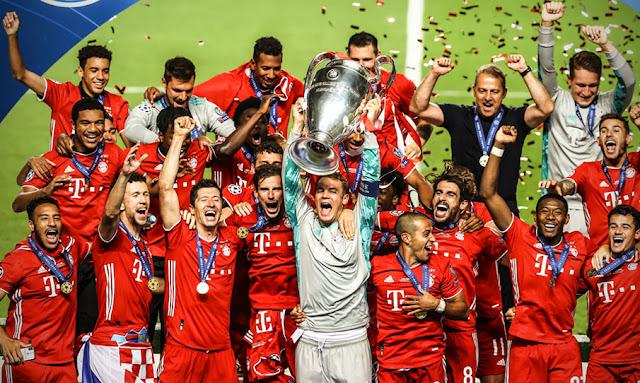 بايرن ميونيخ بطل دوري أبطال أوروبا للمرة السادسة في تاريخه