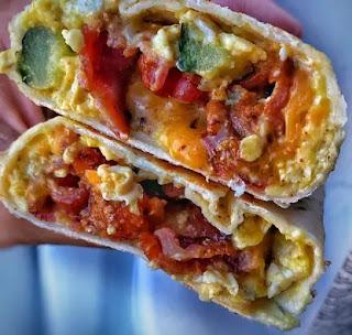 Keto Burrito Breakfast -2 two Recipes-