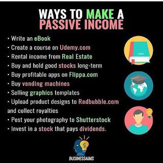 Các phương pháp tạo nguồn thu nhập thụ động