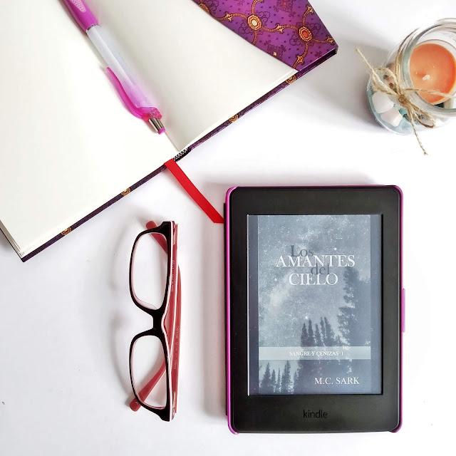 los amantes del cielo_M. C. Sark_novela romántica paranormal