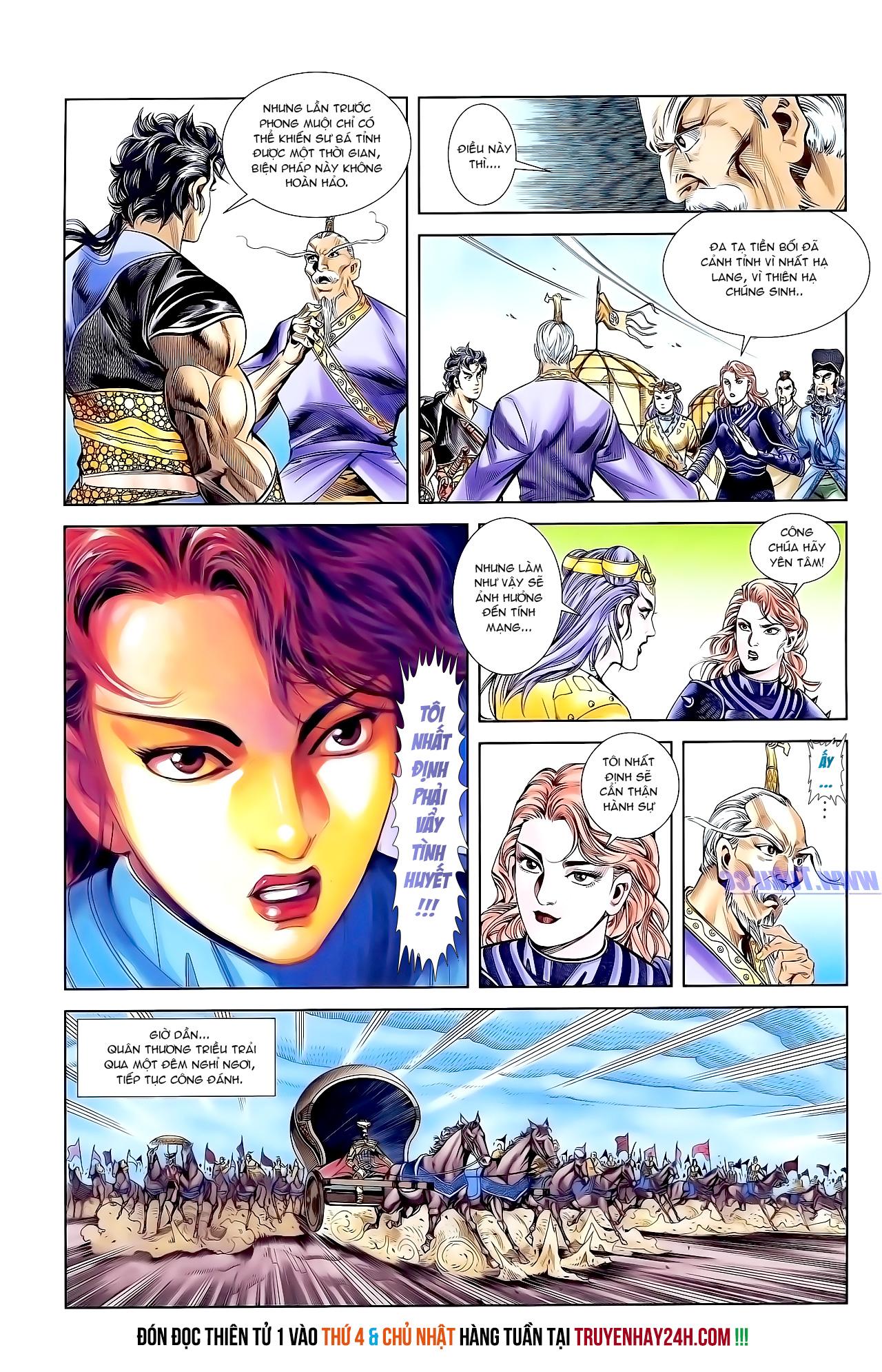 Cơ Phát Khai Chu Bản chapter 157 trang 28