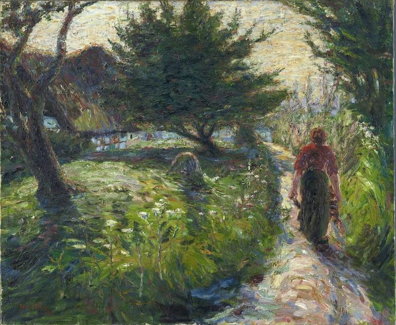 Emil Nolde | Tarde de verano 1903