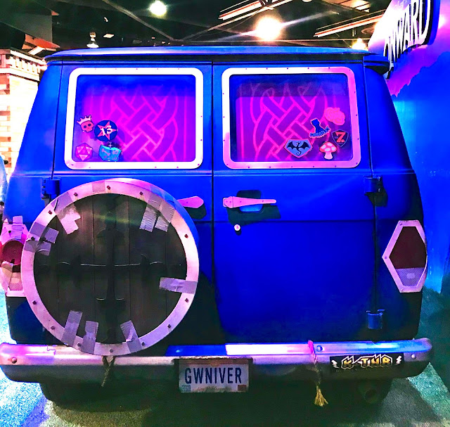 Pixar Onward Van in real life