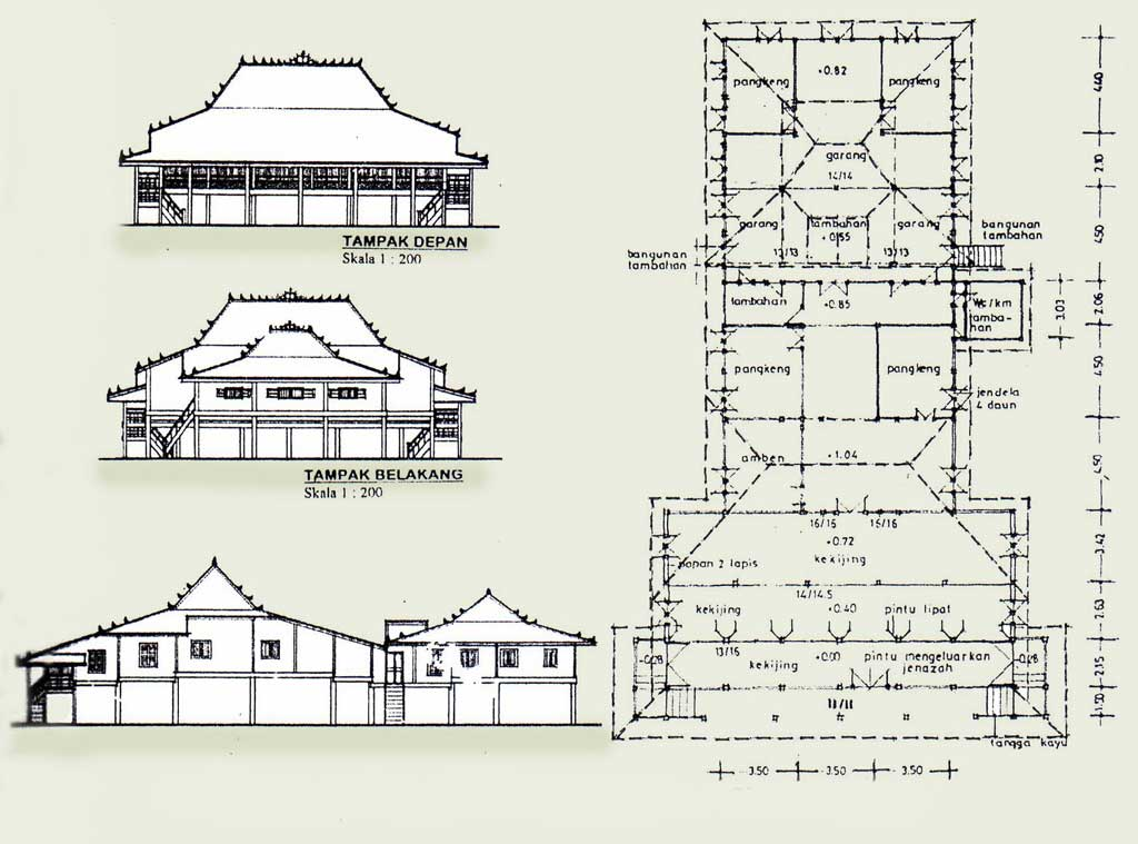 Desain Rumah Adat Sumatera Selatan Rumah Limas Satriamedianet