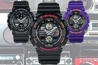G- Shock series GA-140 inspirasi era 90-an