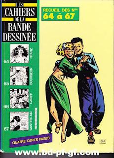 Les cahiers de la bande dessinée, recueil de 64 à 67