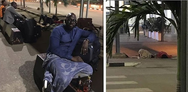 Nigerians Get Kicked Out Of Abuja Airport Minutes After 2a.m In Order For It To 'Close'