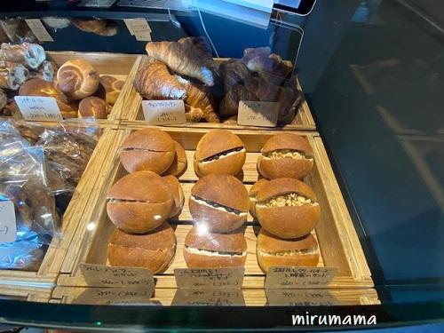 小さめのパン