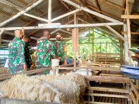 Bintara Dikjurba Otsus Kodim Bojonegoro dikenalkan Pengelolaan pada UMKM Peternakan