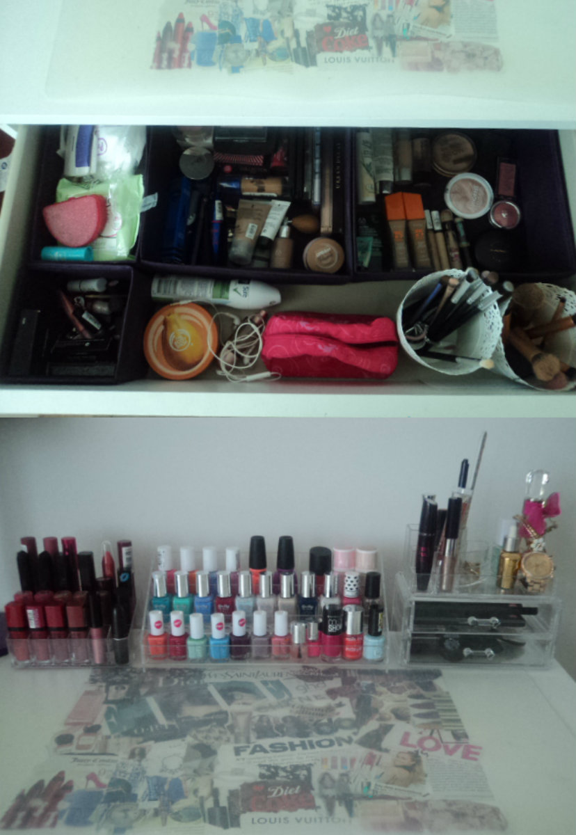Make-up Organisation| Tips and Tricks