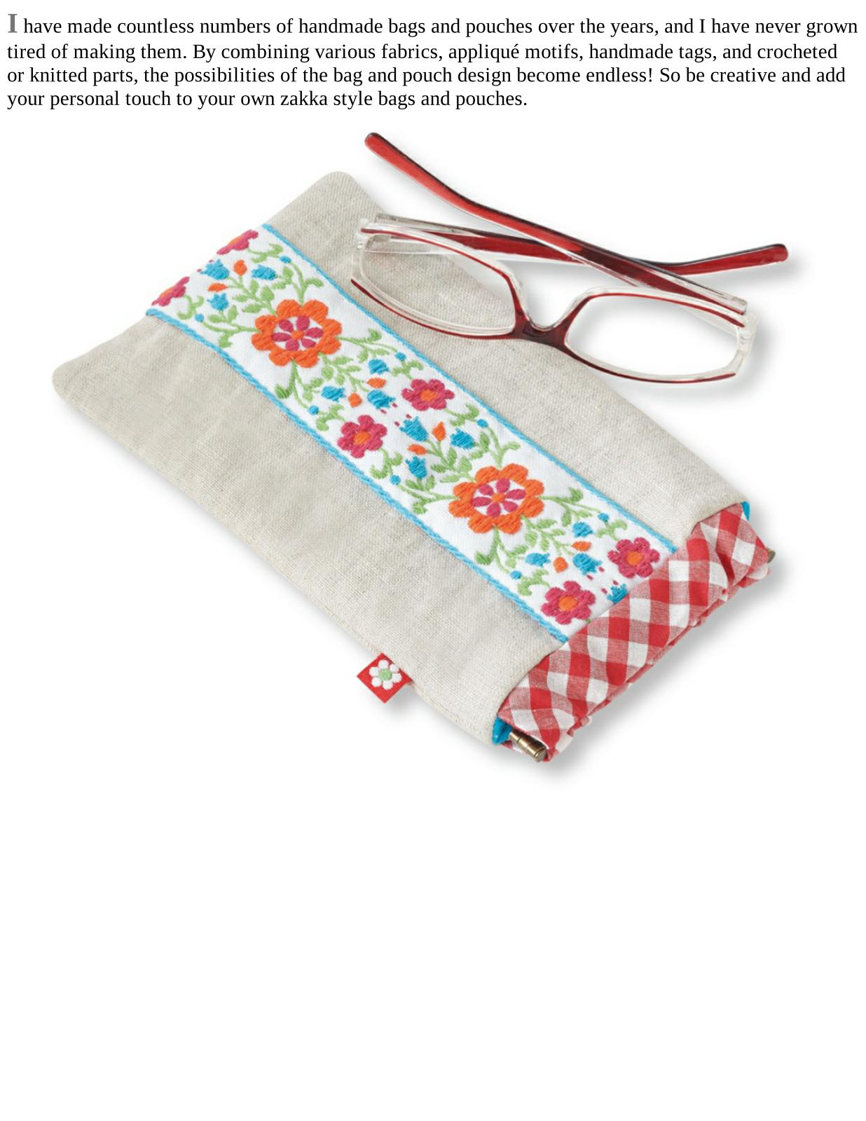 Bags and Pouches Zakka Style