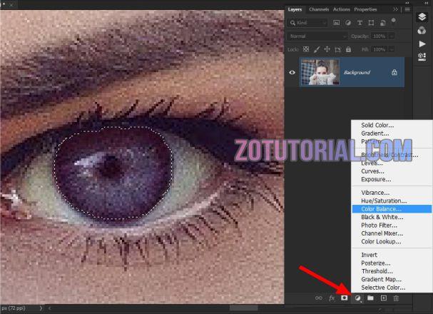 Cara Ganti Warna Mata Dengan Photoshop CS6 / CC