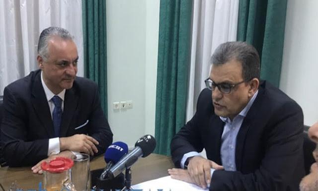 Ο ευρωβουλευτής της Ν.Δ. Μανώλης Κεφαλογιάννης επισκέφθηκε το Επιμελητηριο Αργολίδας