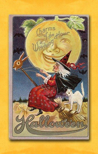 vintage halloween poster download printables