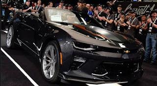 2018 Chevy IROC-Z Camaro Convertible Revue, photos, spécifications