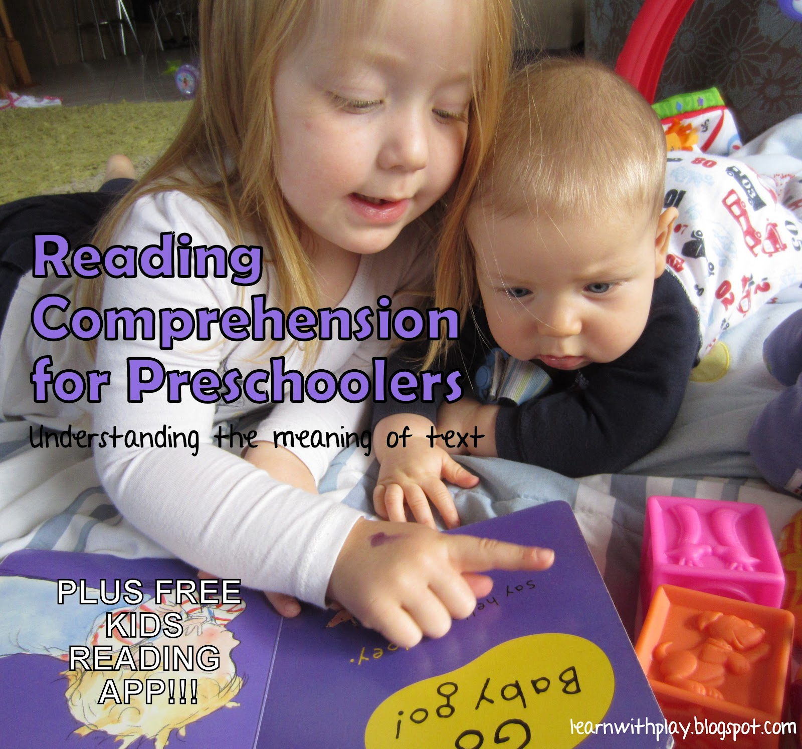 Learn With Play At Home Reading Comprehension For Preschoolers 5 Ways To Help Your Child Plus