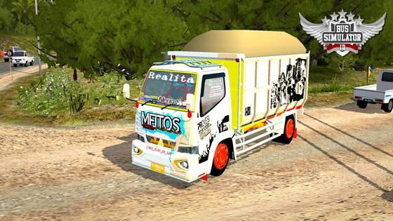 Canter Dump Truck Bussid