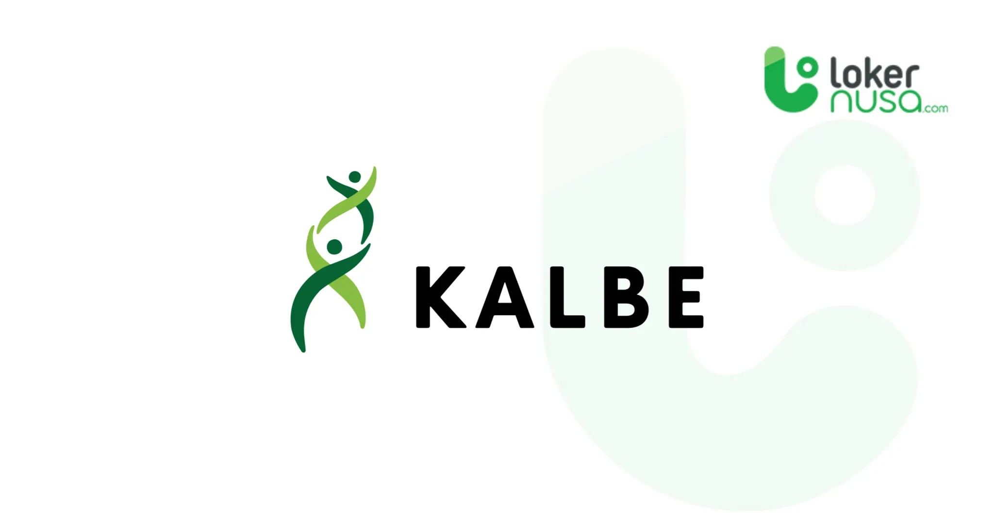 Lowongan Kerja Medis Kalbe Farma