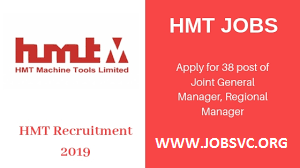 Hindustan Machine Tools Limited ( HMT ) Recruitment 2019 – Various Associate Posts | Apply Online