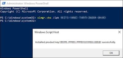 Dica: Ativação do Windows Server® 2019 via prompt de comando