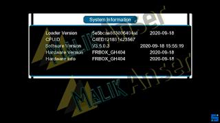 GX6605s New Software Update 2021 USB Update