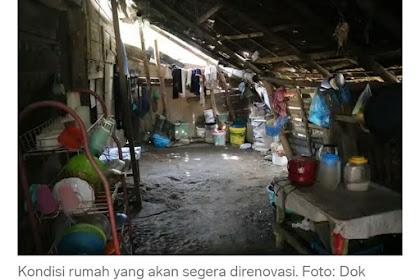 Alhamdulillah, Rumoh Nek Syarifah di Pidie Ka Geubantu Lé Polantas Polda Aceh