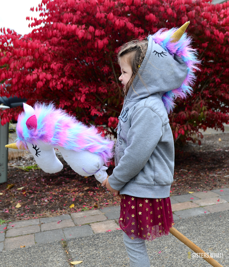 Sewing tutorial: Unicorn hoodie sweatshirt