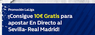 william hill promocion Sevilla vs Real Madrid 26 septiembre