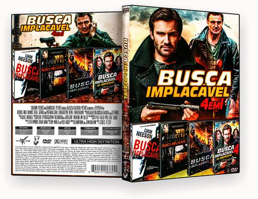 coleção – Busca Implacavel 4 Em 1- ISO
