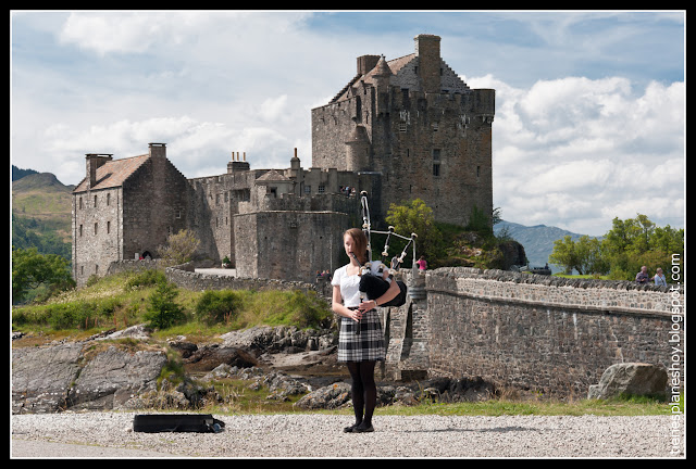 Castillo Eilean Donan (Escocia)