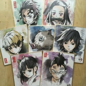 Illustration Board of Demon Slayer main characters