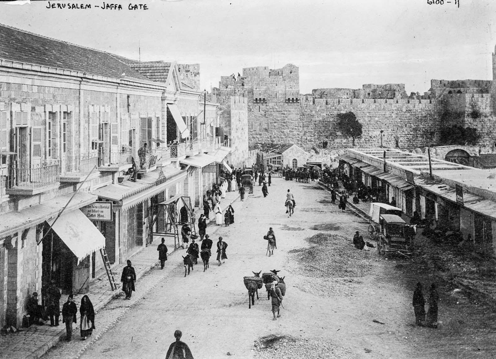 Jerualem. 1900.
