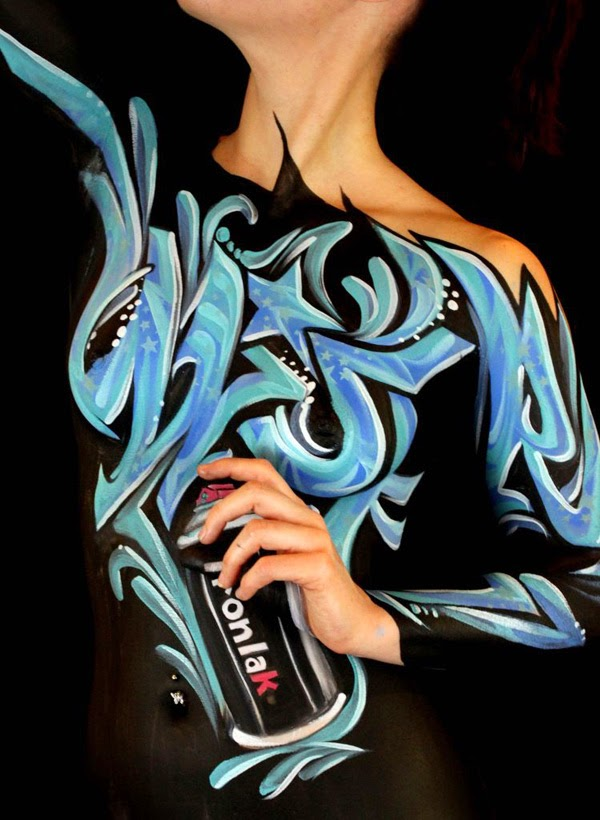 Incredible Examples of Body Painting Art2