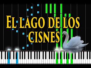 el lago de los cisnes - swan lake - piano