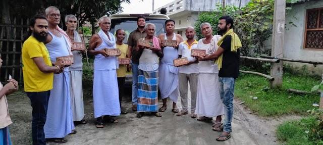 """त्योंथ में गूंजा """"अप्पन ईंटा अप्पन एम्स"""" का नारा, लोगों ने दिया जमकर समर्थन"""