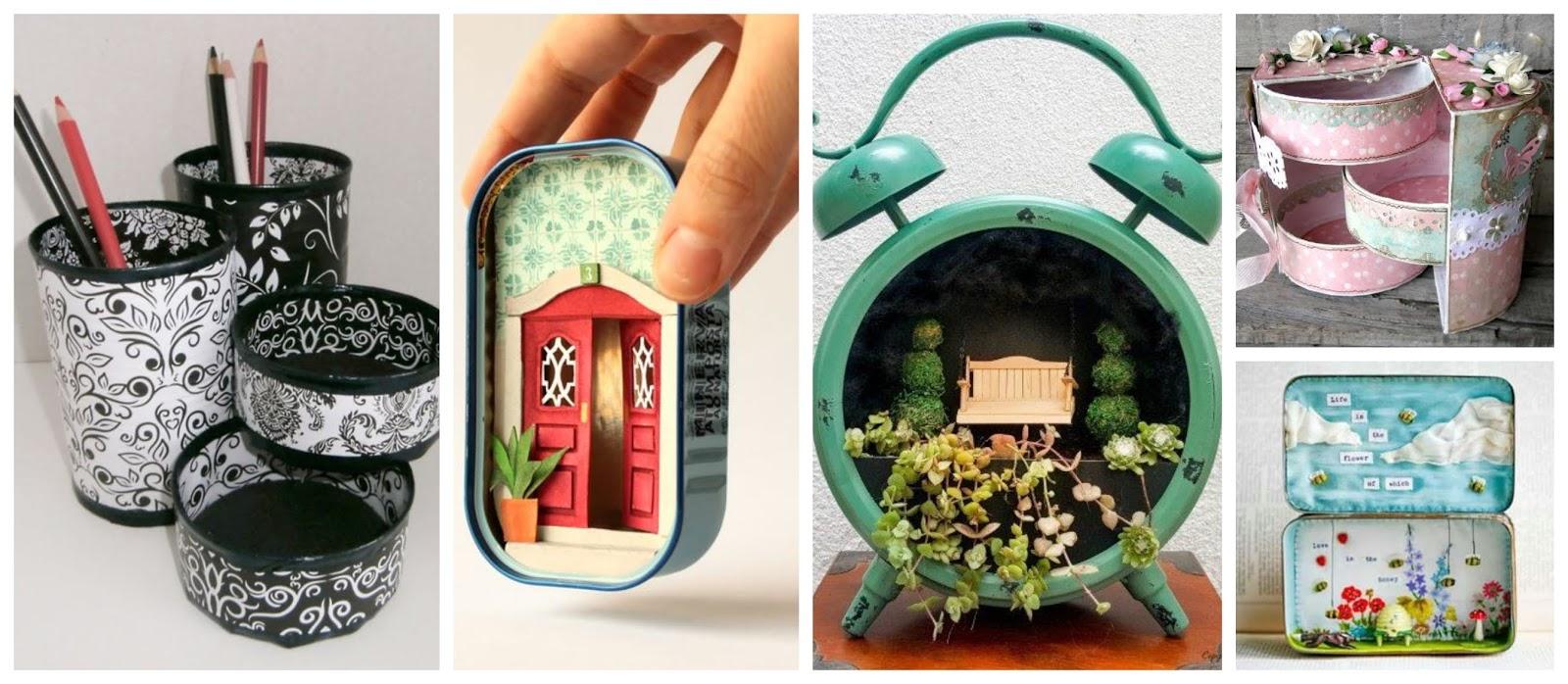11 ideas creativas para reciclar latas de at n y hacer - Hacer bricolaje en casa ...