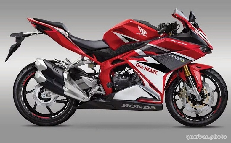All New Honda CBR250RR Racing Red
